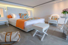 One Bedroom suite with Sea View at  Avaton Luxury Villas Resort - Relais & Chateaux