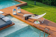Junior Suite with private pool at  Avaton Luxury Villas Resort - Relais & Chateaux