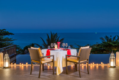 A Romantic Dinner on your Private Terrace