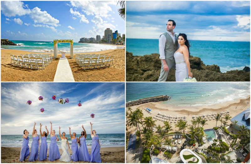 Caribbean Beach Weddings in Puerto Rico | Featuring La Concha Resort