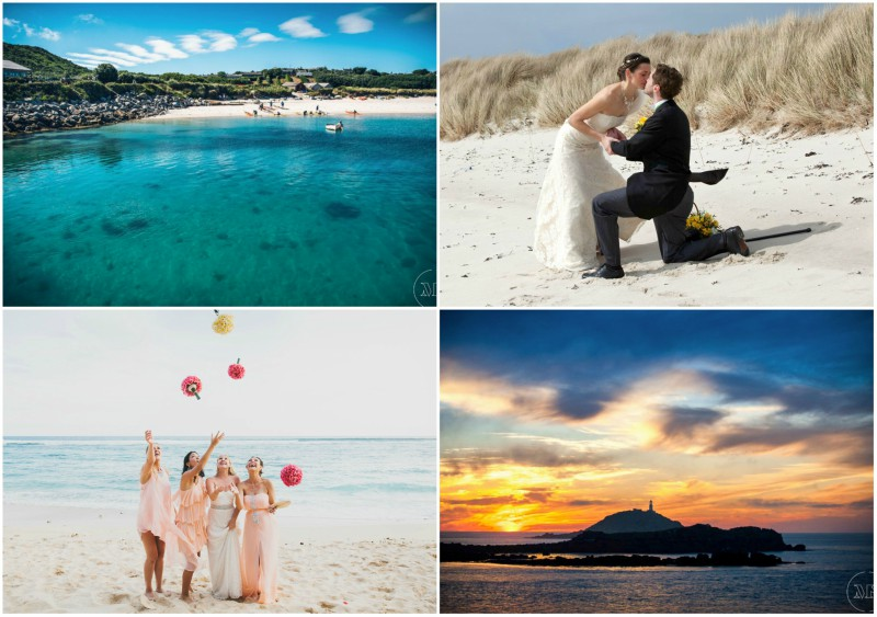 UK Beach Weddings in the Isles of Scilly | Featuring Karma St. Martin's