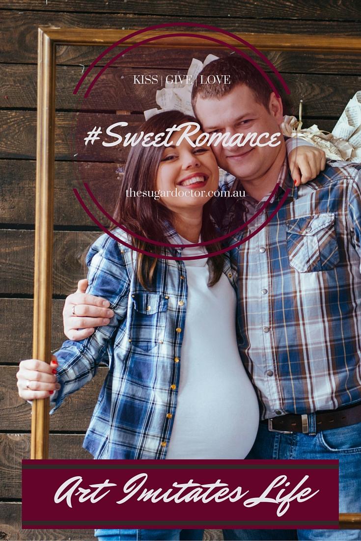 #SweetRomanceArtImitatesLife