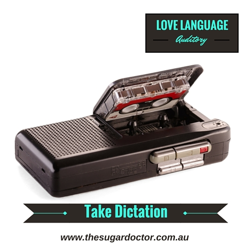 #Auditory#Dictation