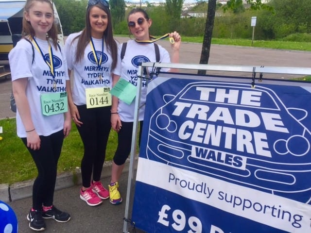 The Trade Centre Wales supports community walkathon in Merthyr image