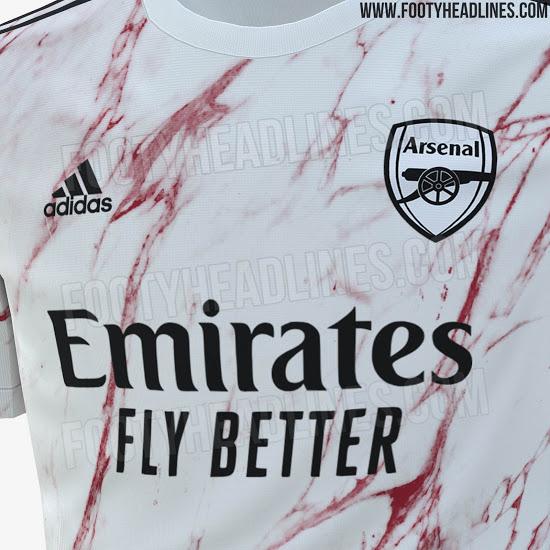 Arsenal 2020 21 Away Shirt Leaked
