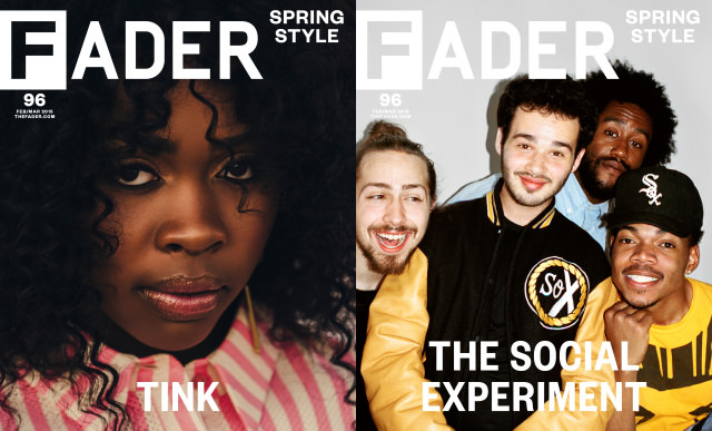 tink chance the rapper fader cover