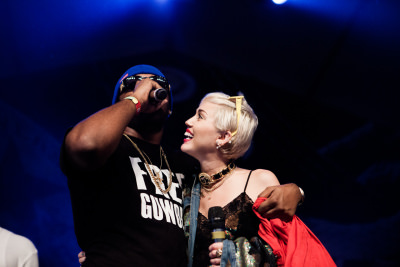 miley cyrus sxsw fader fort surprise