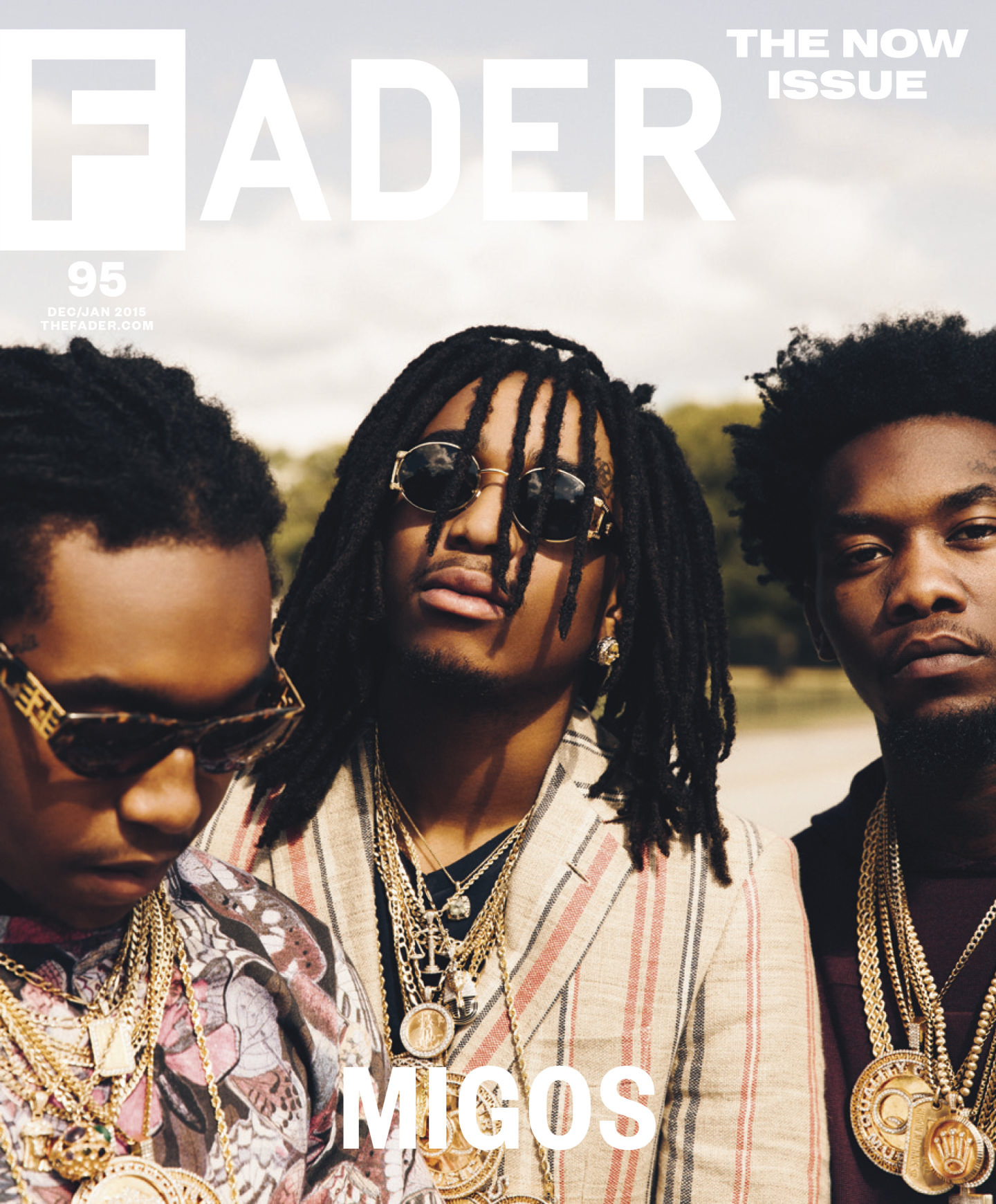 Migos for FADER by Ben Grieme