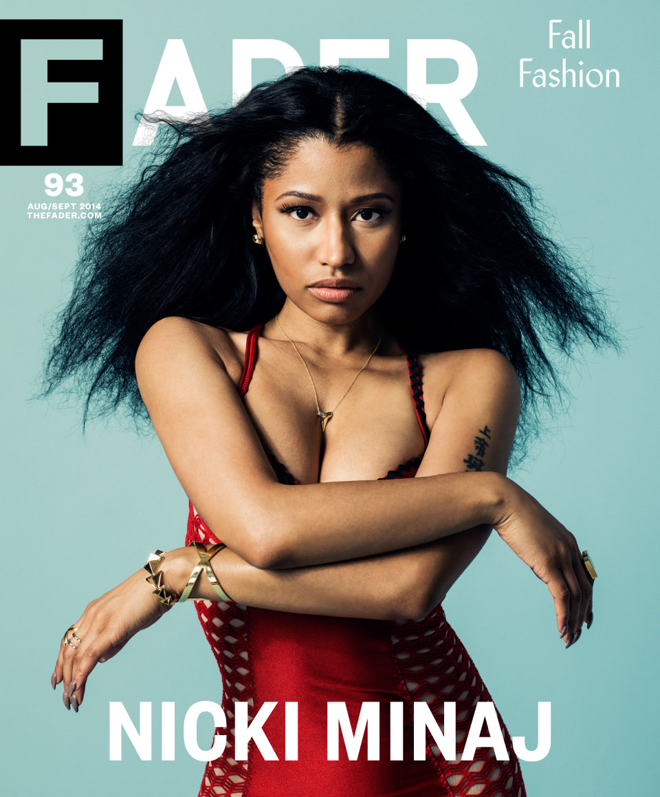 Nicki Minaj FADER cover