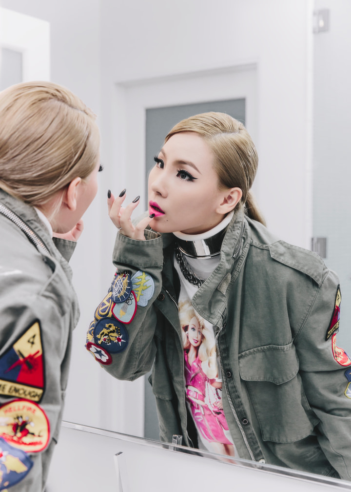 CL 2NE1 interview make-up