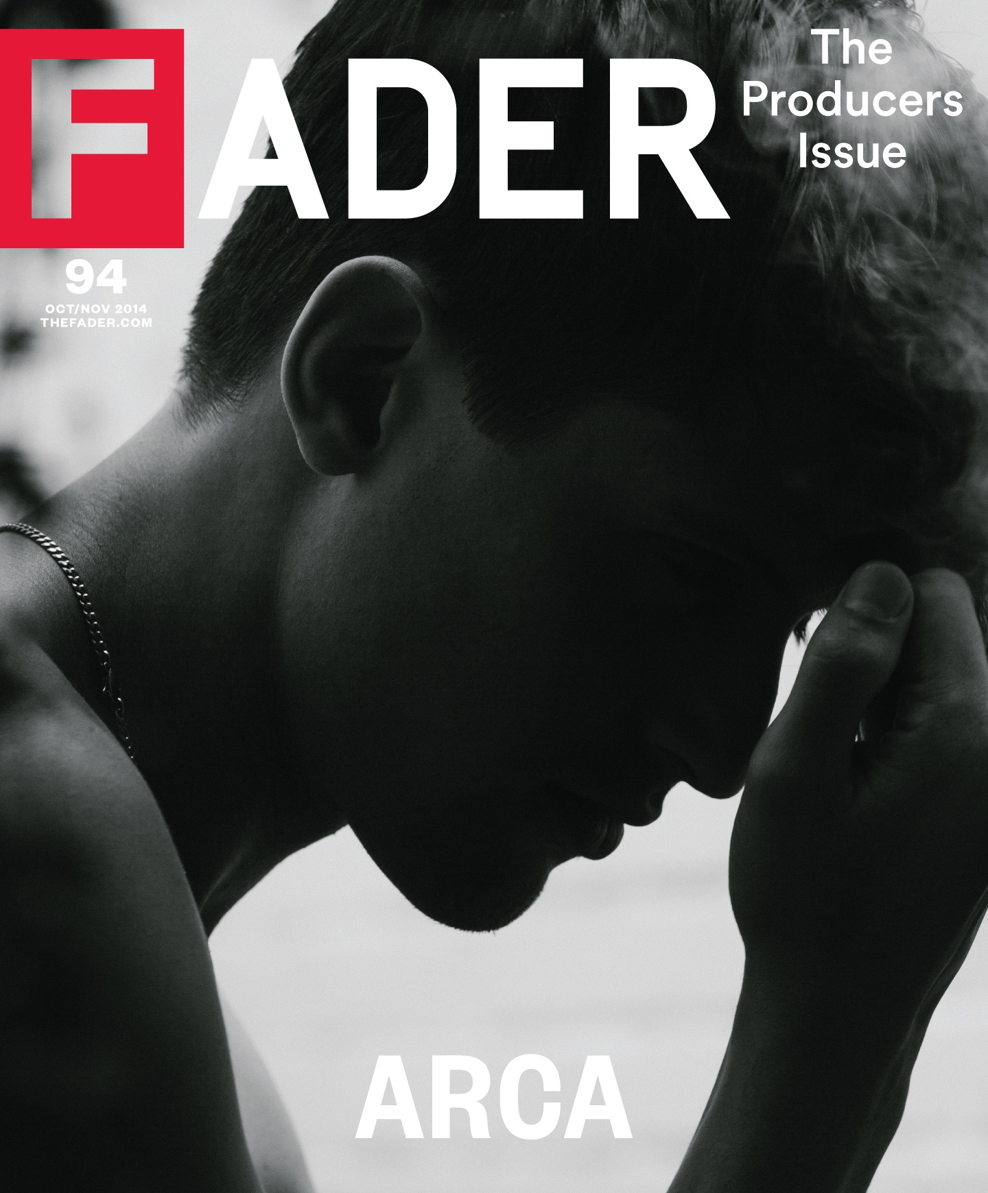 Arca - The FADER cover