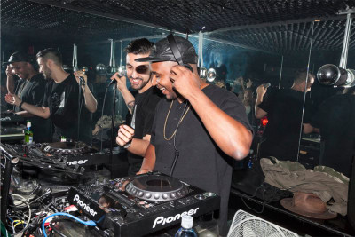 nick catchdubs fool's gold the standard the fader party la downtown hollywood