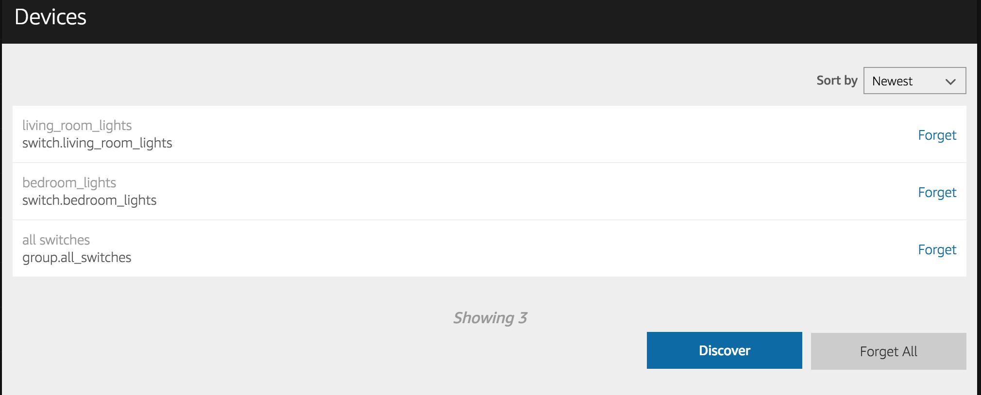 Alexa Device Dashboard