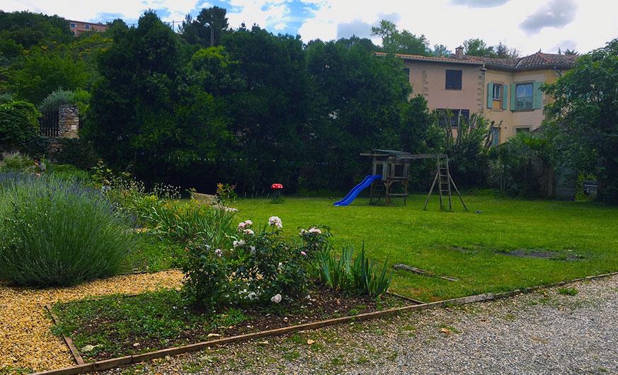 french rural retreat playground