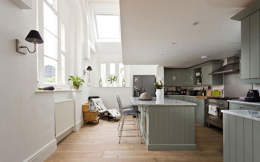 the sussex escape open kitchen
