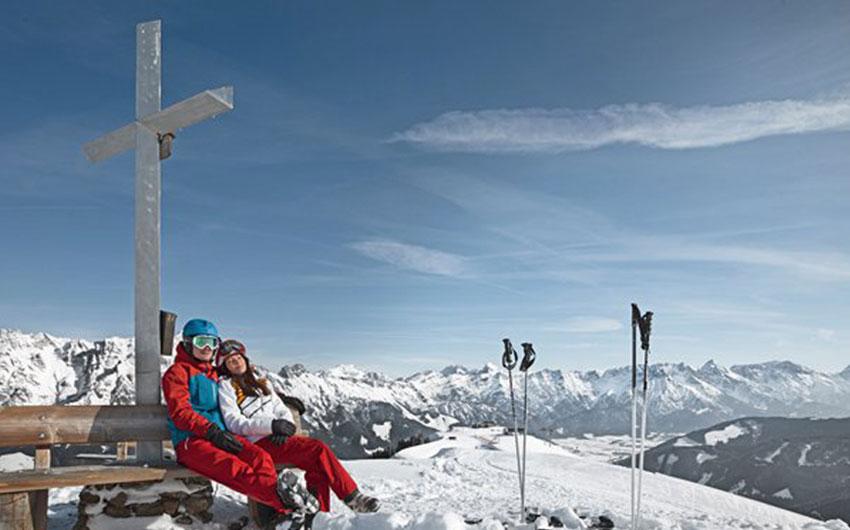 ski slopes with kids