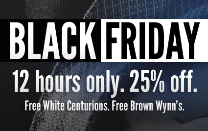 12 Hours Only. 25% Off.