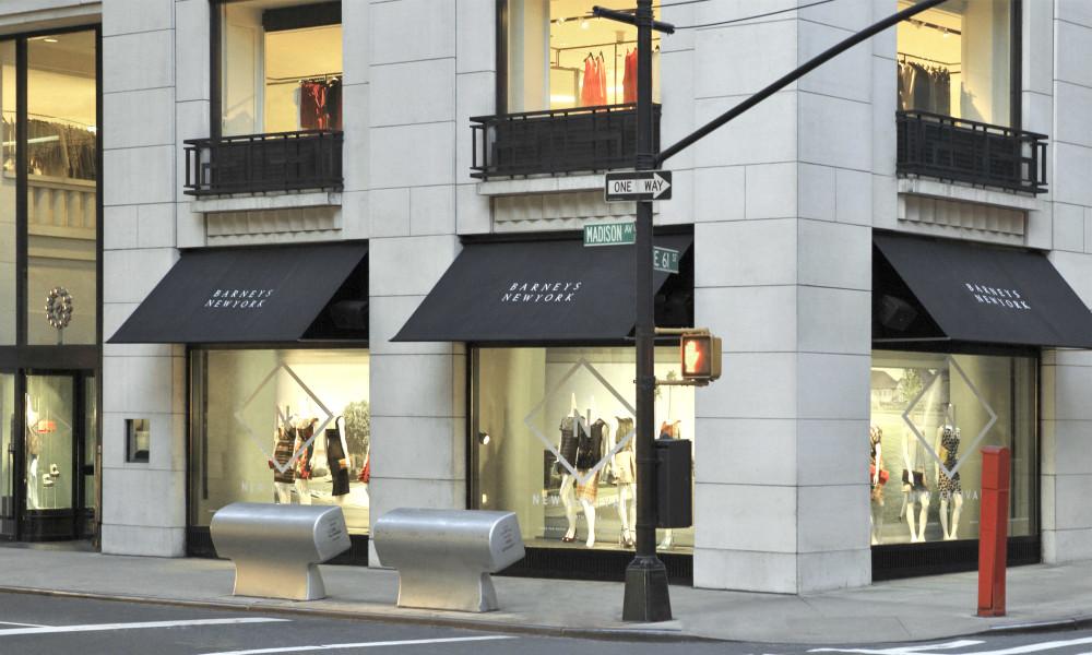 P Johnson at Barneys Madison Avenue