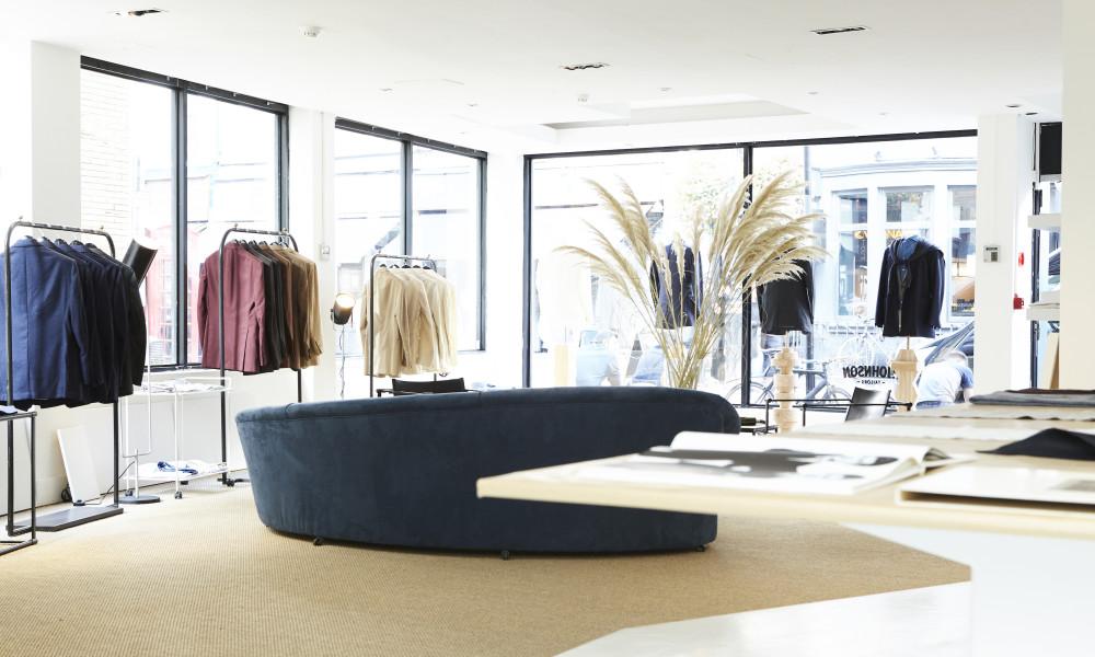 P. Johnson Tailors open in London