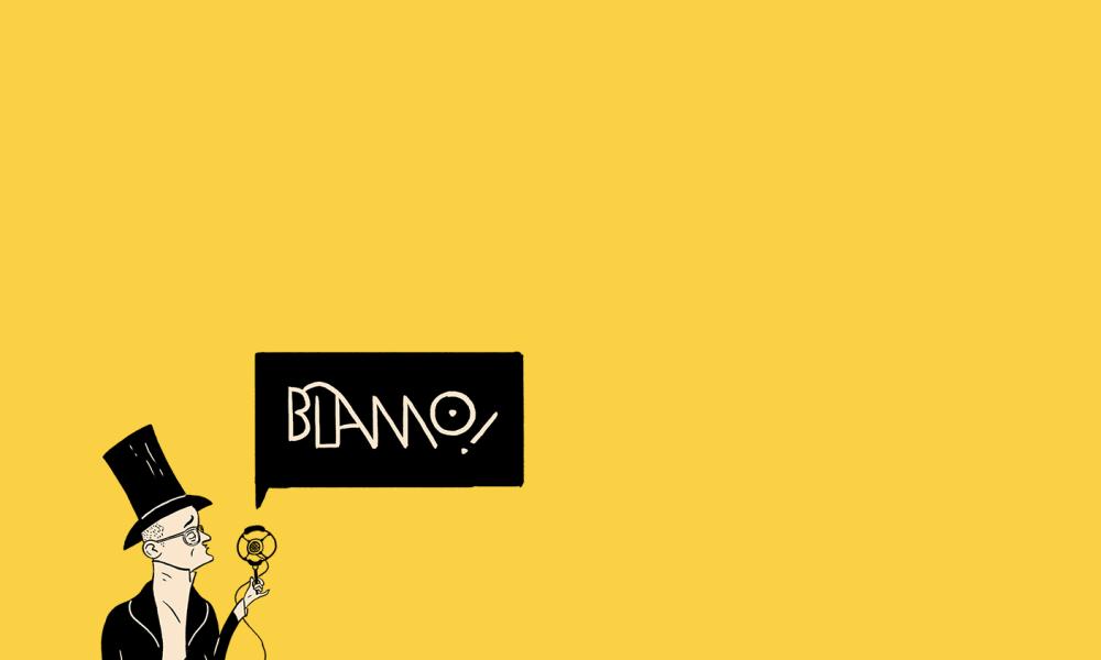 Patrick Johnson on Blamo! Podcast