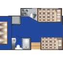 Class C 28-30ft (R) Floorplan Night