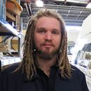 Action Manufacturing Team Member, Jeff Sanders