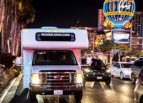 Road Bear RV Las Vegas branch