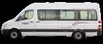 Side profile of the Maui Ultima Plus 2+1 Berth Campervan