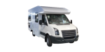 Side profile of the Maui Discovery 4 Berth Campervan