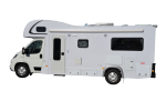 Side profile of the Maui Traveller 6 Berth Campervan