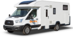 Side profile of the Maui 4 Berth Cruiser - NEW Campervan