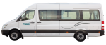 Side profile of the Maui Ultima Plus 3 Berth Campervan