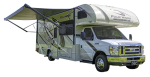 Side profile of the Roadbear Class C 25-27' RV