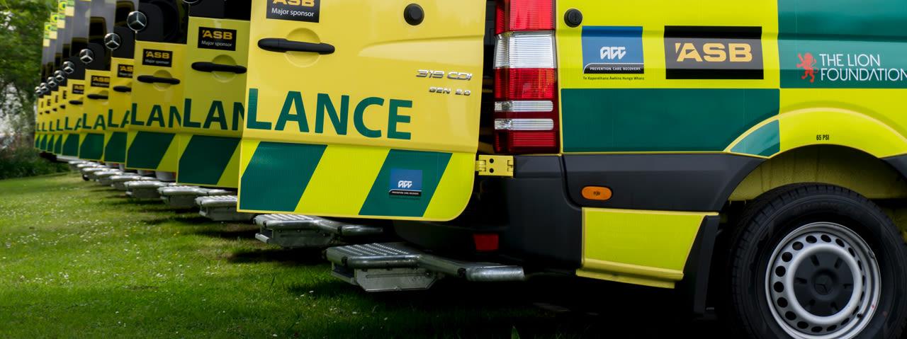 Action Manufacturing build for Frontline Ambulance Gen 2.0