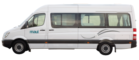 Side profile photo of the Maui Ultima Plus 2+1 Berth Campervan