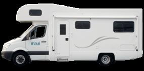 Side profile photo of the Maui Beach 4 Berth Campervan
