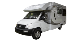 Side profile photo of the Maui Discovery 4 Berth Campervan