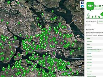 Barns lekmiljöer kartlagda i världsunik undersökning - bygg.stockholm.se