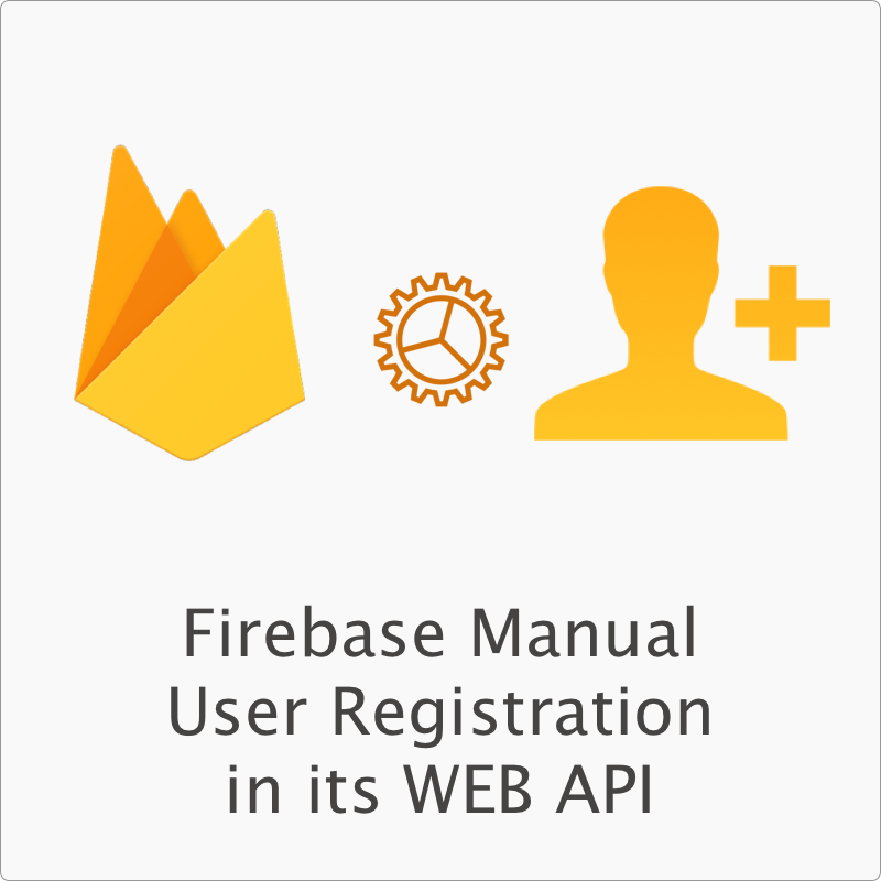 Firebase Manual User Registration
