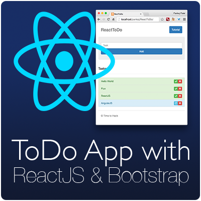 ToDo App with ReactJS
