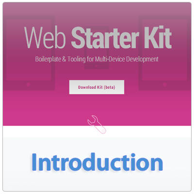 Google Web Starter Kit