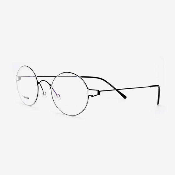 SPRINGFIELD Titanium Round Frames | Titanium Optix