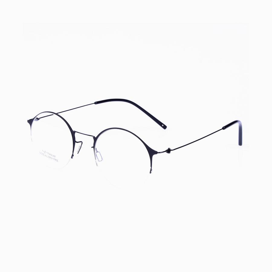 PEORIA Semi Rimless Titanium Frames | Titanium Optix