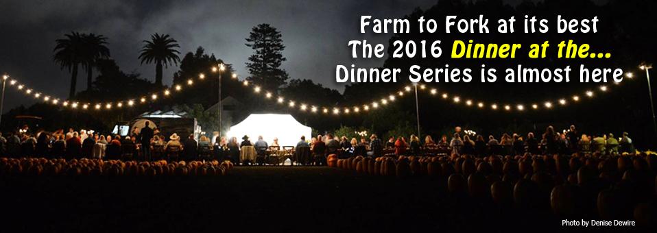 Dinner at the… 2016 Dinner Series
