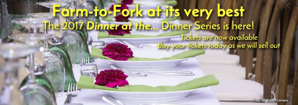 Dinner at the… 2017 Dinner Series