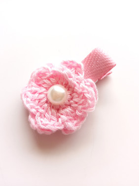 Color Flower Hairpin