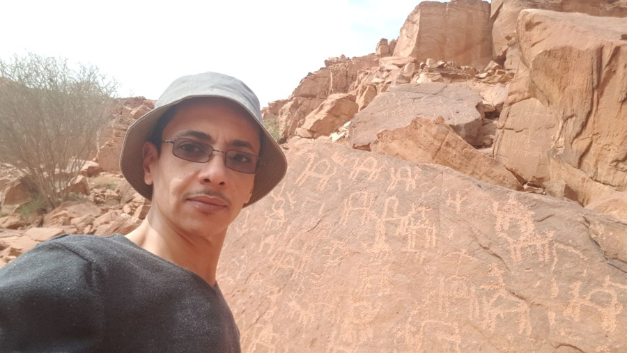 Nabatean and Arabic writings