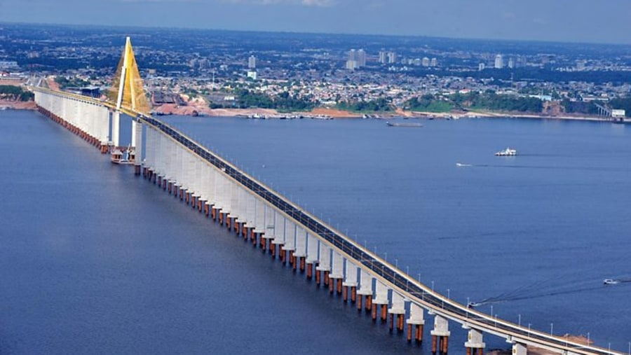 Crossing the Bridge by car