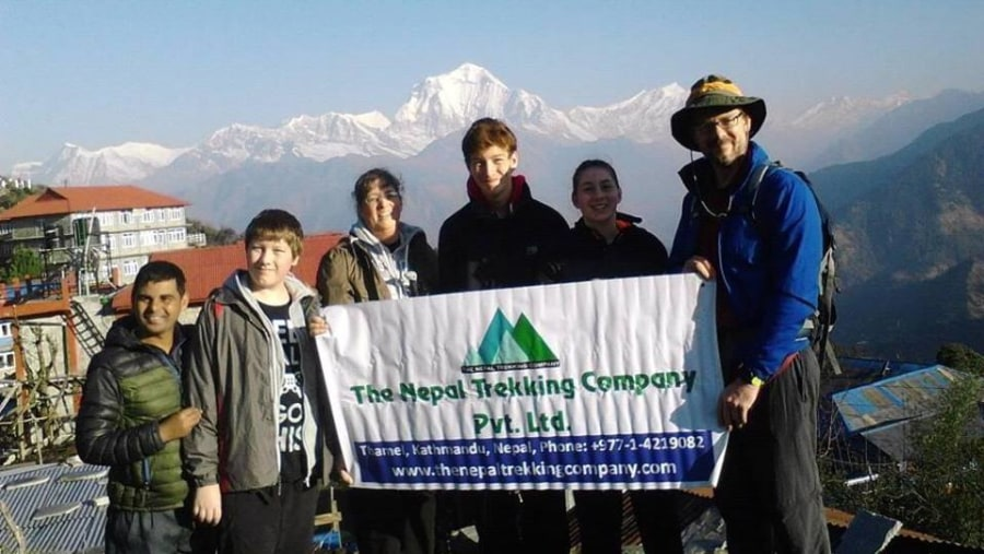Family Trek with The Nepal Trekking Company - Memoriable Journey