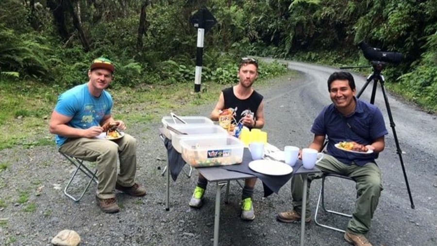 lunch in the cloud forest, Manu National Park
